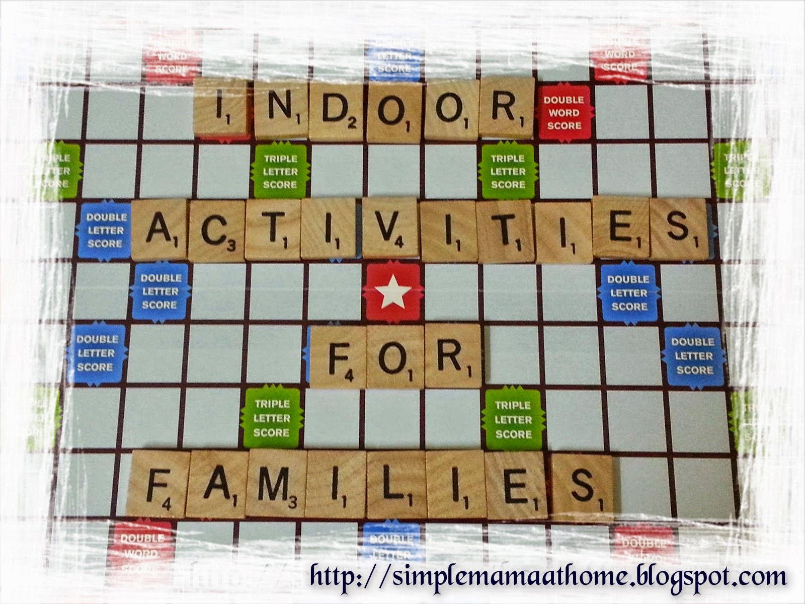 Indoor Activities For Families