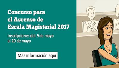 inscripci n de docentes al concurso de ascenso 2017