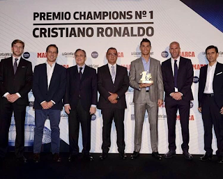 Cristiano Ronaldo Wins Champions League Best Player Award