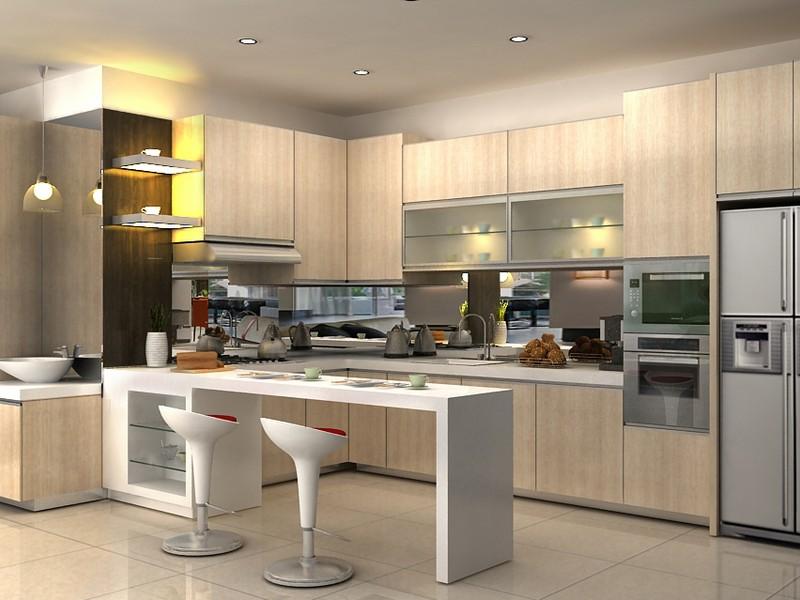Desain Unik Desain Kitchen Set 2016