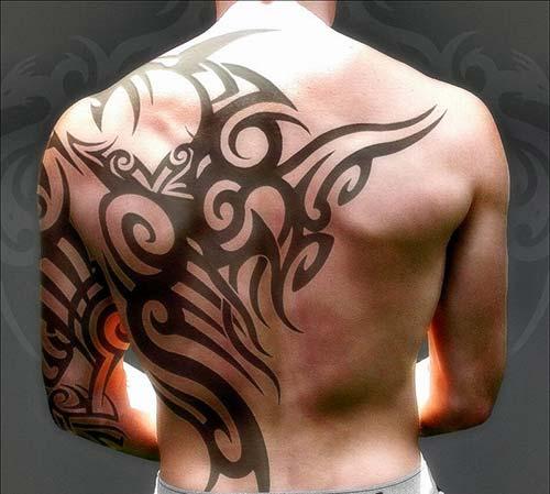 erkek tribal dövmeler man tribal tattoos 25