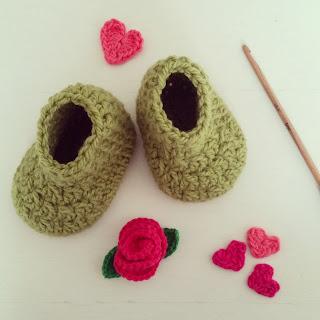 botas crochet ganchillo