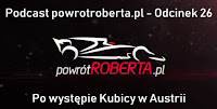 podcast 26 po Grand prix Austrii 2018 vlog Robert Kubica