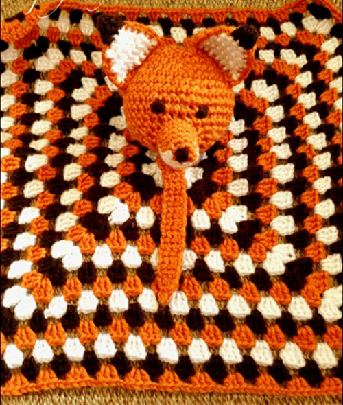 Fox Lovey/ Security Blanket - Free Pattern