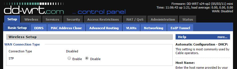 Doing something more with a linksys RE1000 (cisco) | DD-WRT on CISCO