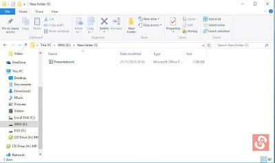 Cara Membuat File PowerPoint Tidak Dapat Diedit
