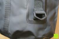 Öse: Dry Bag »Krake« Wasserdichte Trockentasche / Seesack / Survival Bag / Trockensack / Ideal für Kajak, Kanu, Segeln, Angeln, Schwimmen, Strand, Snowboarden, Skifahren, Bootfahren, Camping / Schützt Deine Wertsachen und Kleidung vor Staub, Nässe, Sand und Schmutz / 5L gelb