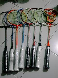 Jual raket badminton baru original semarang