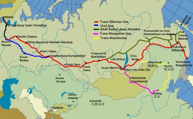 www.xvlor.com Trans-Siberian Railway is the greatest train journey on Earth