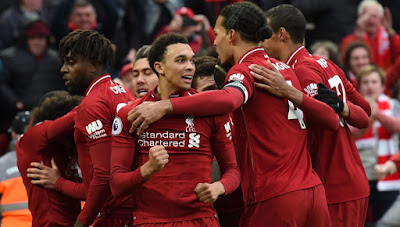 Highlight Liverpool 2-1 Tottenham, 31 Maret 2019