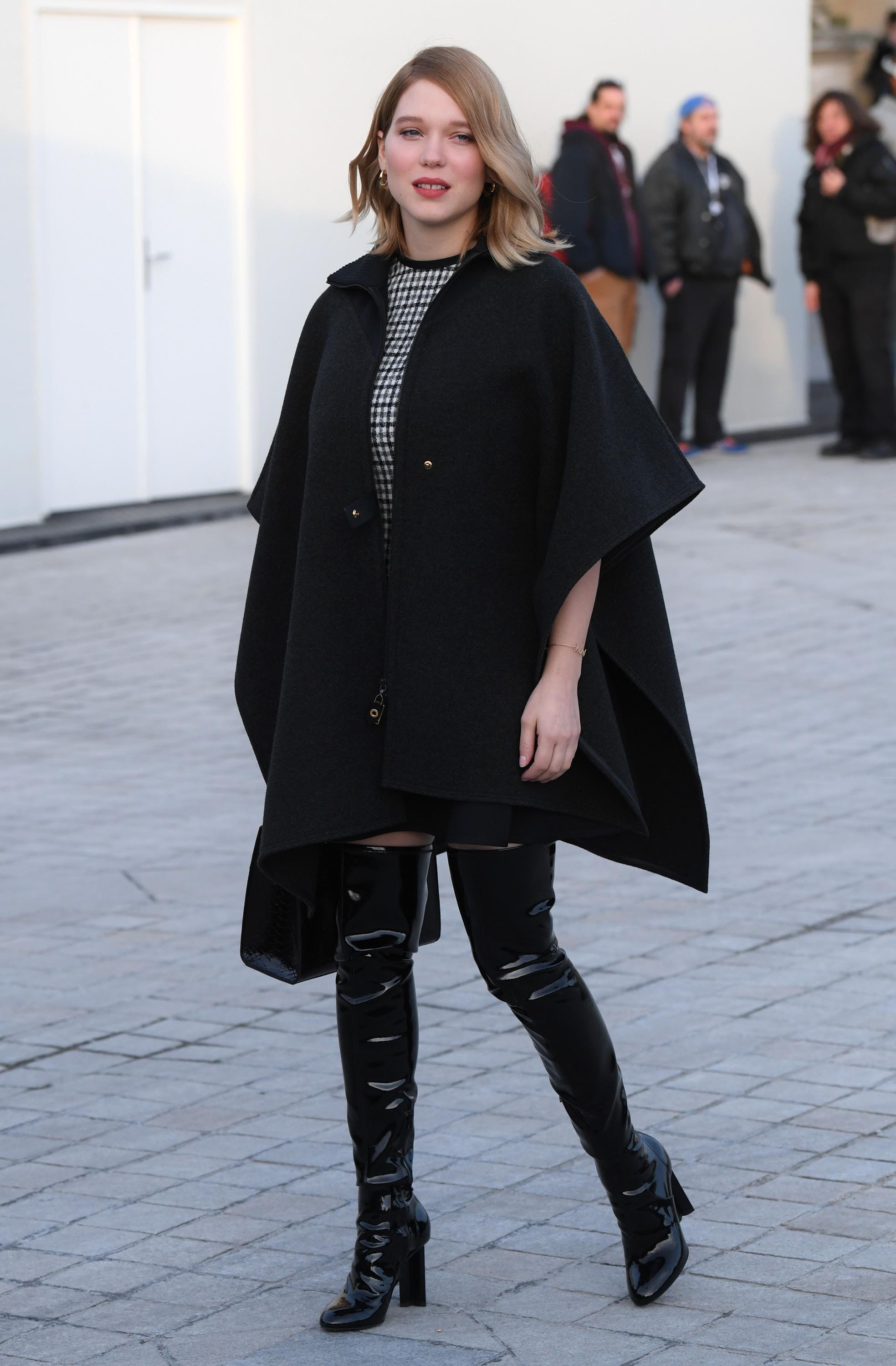 Léa Seydoux at Paris Fashion Week