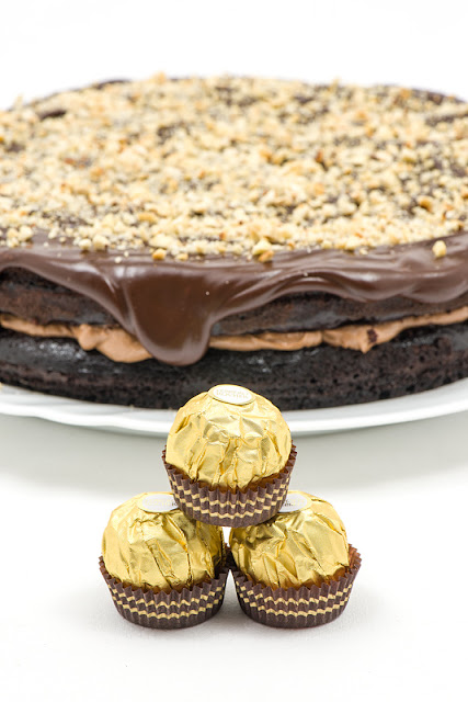 Ferrero rocher tortica in kroglice