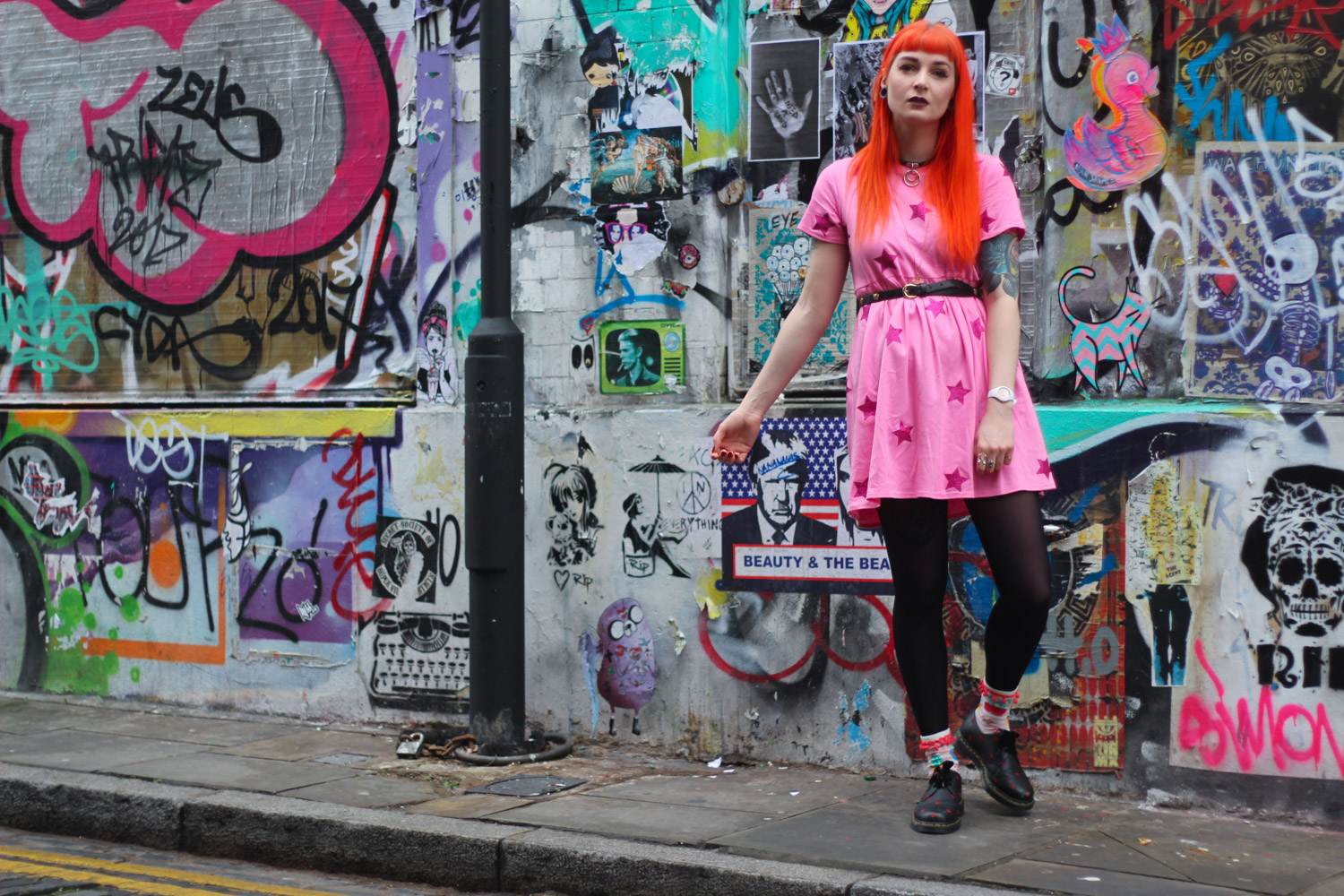 Alternative Fashion Blogger Foxxtailz in Tallulahs Threads