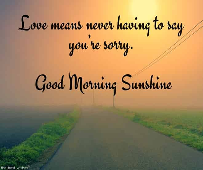 good morning sunshine quotes and sayings