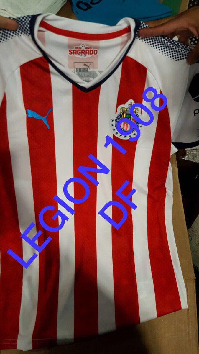 La camiseta del Guadalajara aparece libre de publicidad.