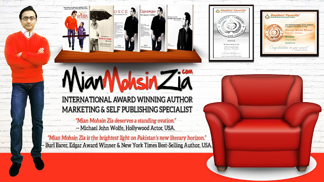 Mian Mohsin Zia - International Award Winning Author, Marketing & Self Publishing Specialist
