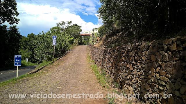 Entrada da Casa Bucco, Vale do Rio das Antas