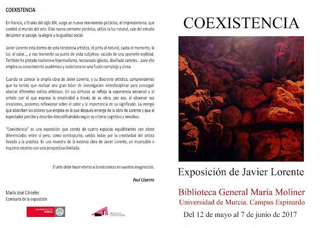 """Exposición de pintura """" Coexistencia""""."""