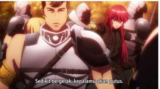 Download Anime Nejimaki Seirei Senki: Tenkyou no Alderamin Episode 4 [Subtitle Indonesia]