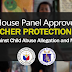 House Panel Approves the TEACHER PROTECTION ACT