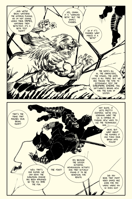 Page 4 art by Roho