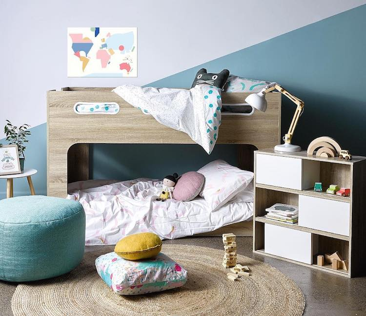 Bring a Warm, Minimalist Touch to your Kids Bedroom