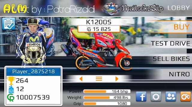 Mod Drag Bike 201M Indonesia 2018