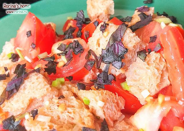 Салат панцанелла: пошаговый рецепт