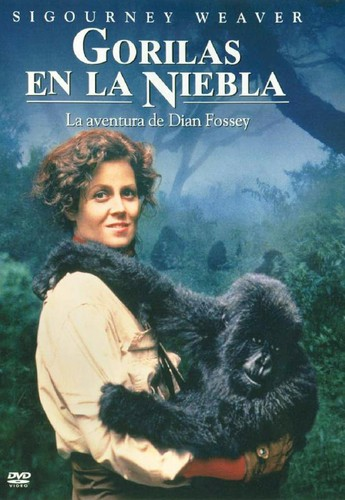 Gorilas en la niebla (1988) [BRrip 1080p] [Latino] [Drama]