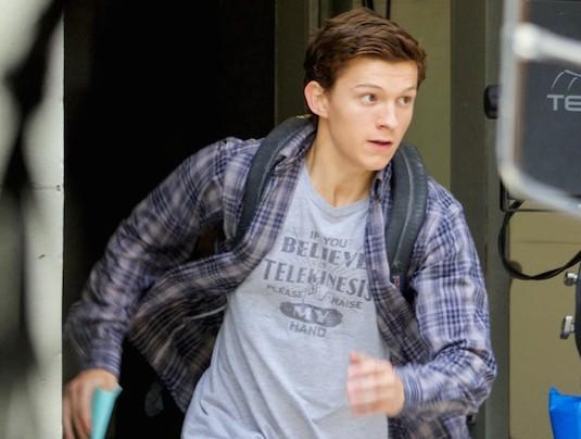 Peter Parker Running