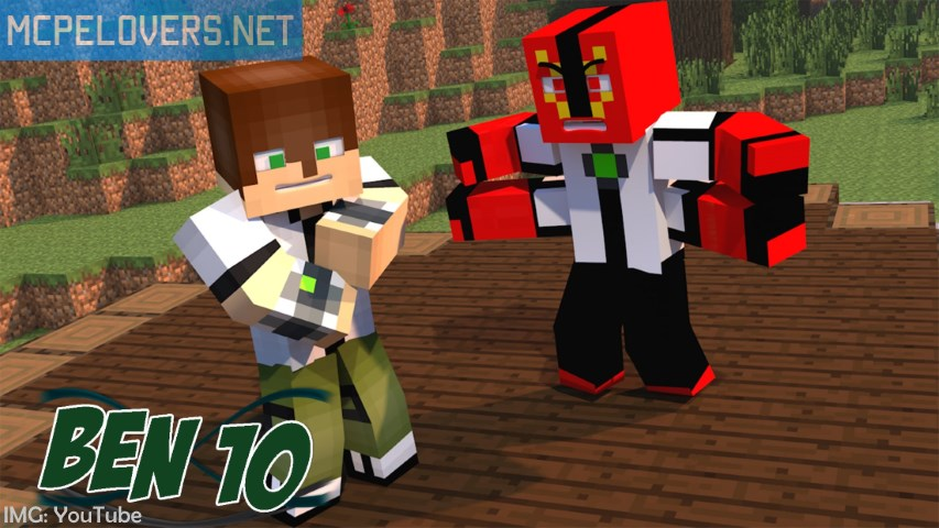 Download Ben Mod MCPE Lovers - Skins para minecraft pe ben 10