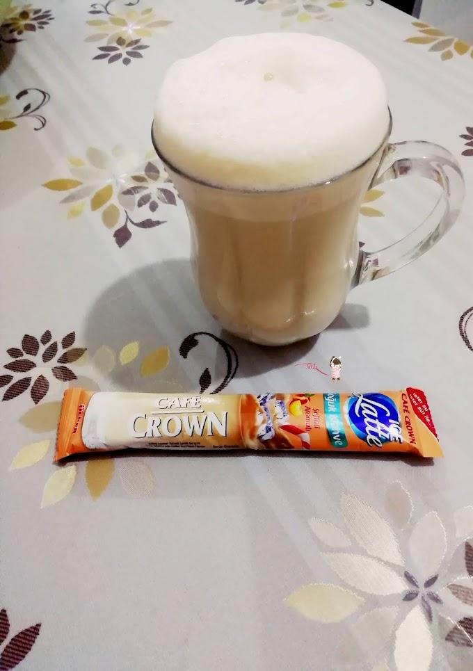 Cafe Crown Ice Latte / Şeftali Aromalı Deneyimi