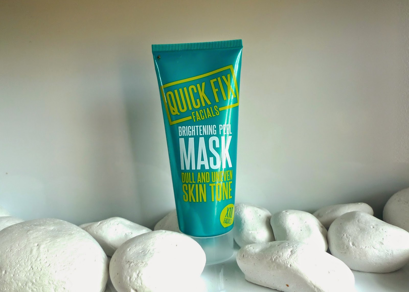 Quick Fix Facials Brightening Peel Mask | Review for dull and uneven skin
