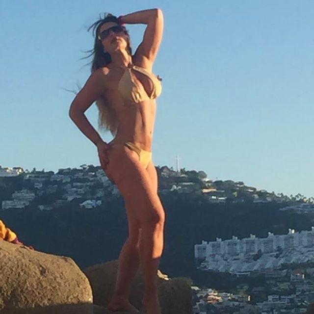 Gaby Spanic hizo alarde de su espectacular figura (+foto)