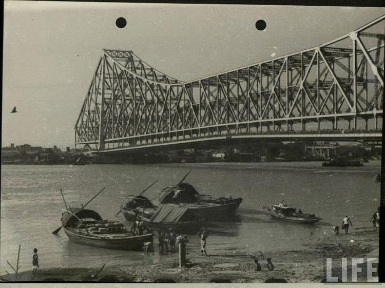 Howrah Bridge (Rabindra setu) Calcutta (Kolkata)