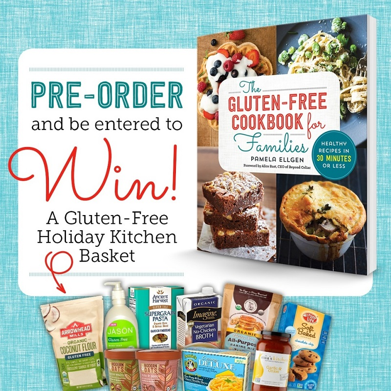 Pre-order giveaway for Gluten Free Cookbook for Families
