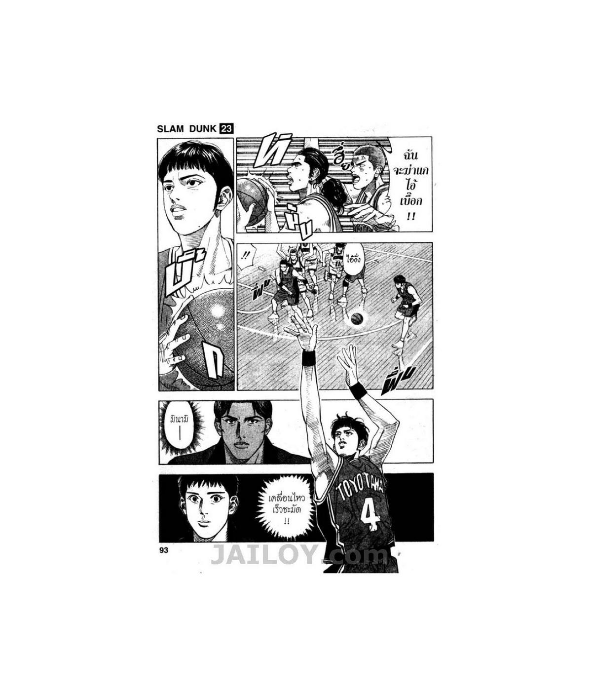 Slamdunk สแลมดังก์ เล่มที่ 23 TH แปลไทย อ่านการ์ตูนออนไลน์