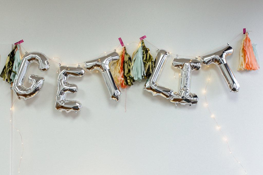 get lit, balloon letters, zurchers balloons