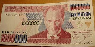 bir milyon lira