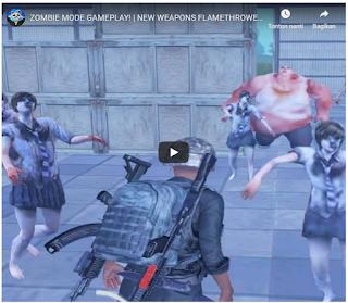 Senjata Unik Untuk Mode Zombie baru di PUBG Mobile [pubg zombie mode]