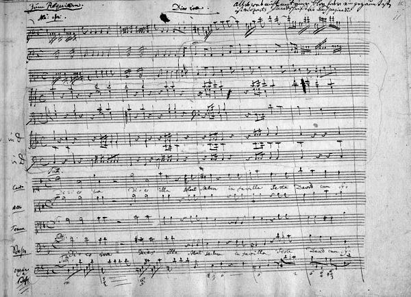 part of the Requiem