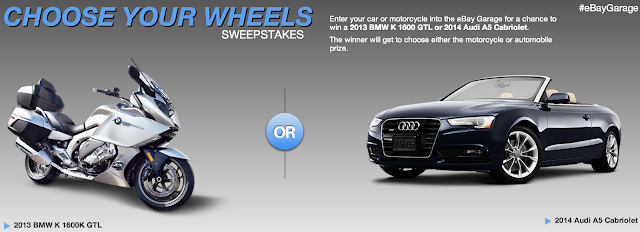 Choose Your Wheels Sweepstakes