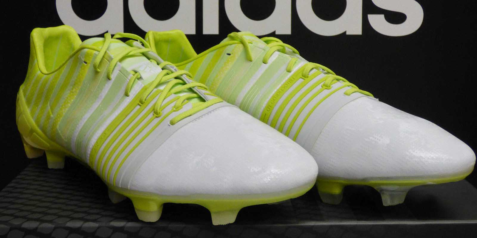 size 40 0768c 4d286 ADIDAS NITROCHARGE 1.0 HUNT BOOTS LEAKED - GLOW IN THE DARK