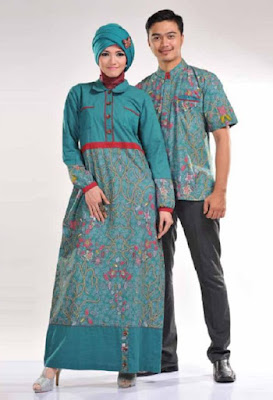 Batik Sarimbit Keluarga Modern