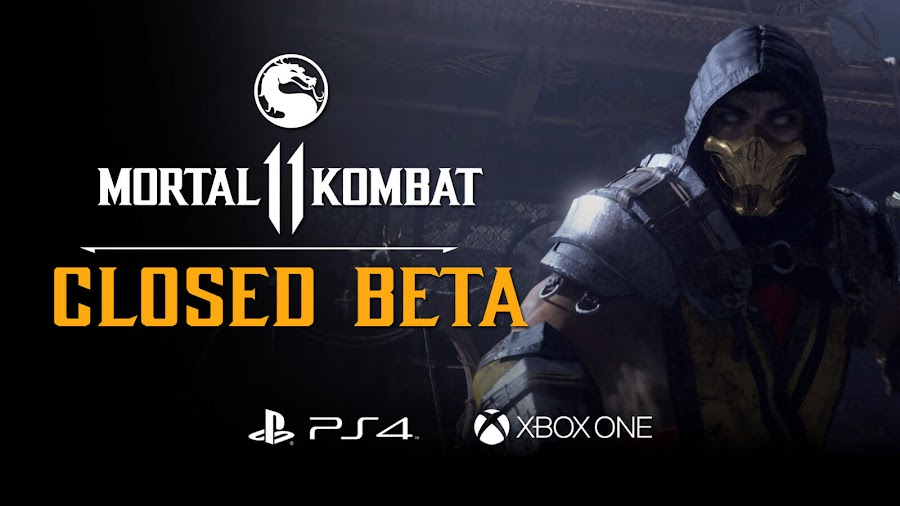 mortal kombat 11 closed beta date ps4 xb1 netherrealm studios