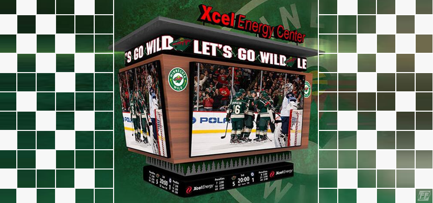 Wild's New Scoreboard Unveiled