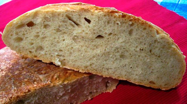 Pan Grande con Masa Madre Natural. Receta