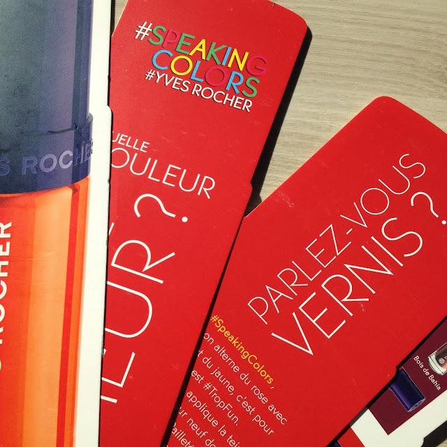 Speaking Colors - Yves Rocher - vernis - beaute - test