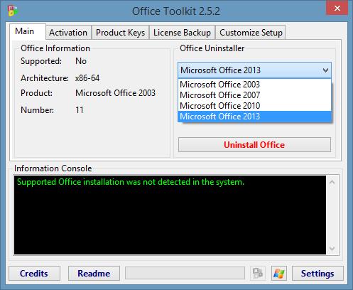 microsoft toolkit microsoft office 2013