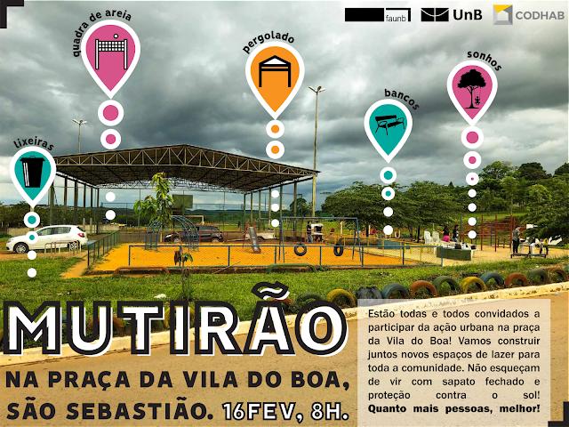Mutirão propõe melhorias urbanas em São Sebastião